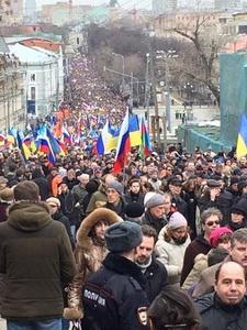 Марш мира, Москва