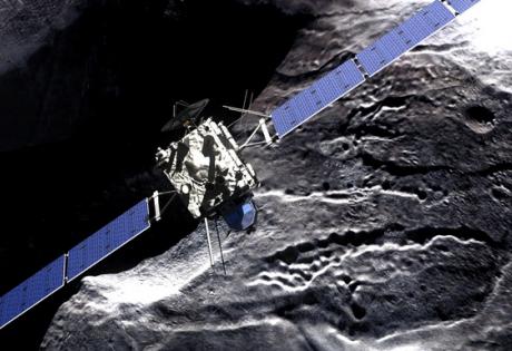 Посадка кометы