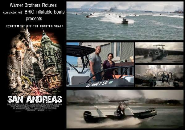 Лодка Бриг в фильмах
