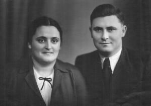 Н.А. Масленников с женой