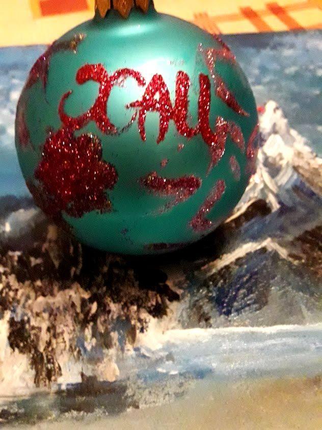 Новогодний шарик ХАИ